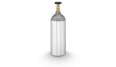 CO<sub>2</sub> Gas bottle - 2.3 KG (5 LB)